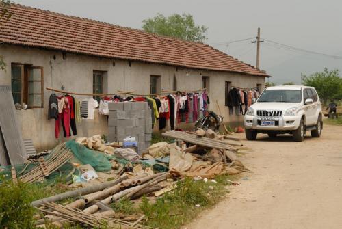 Bezoek aan de parel kwekerij Shanghai april 2007